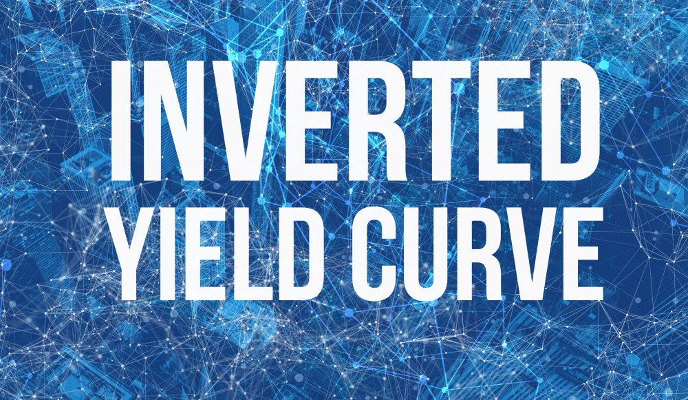 Image reads 'inverted yield curve'